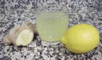 como hacer infusion de limon y jengibre
